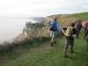 In South Devon above the landslip