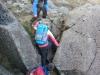 Scrambling on the Daear Ddu Ridge of Moel Siabod