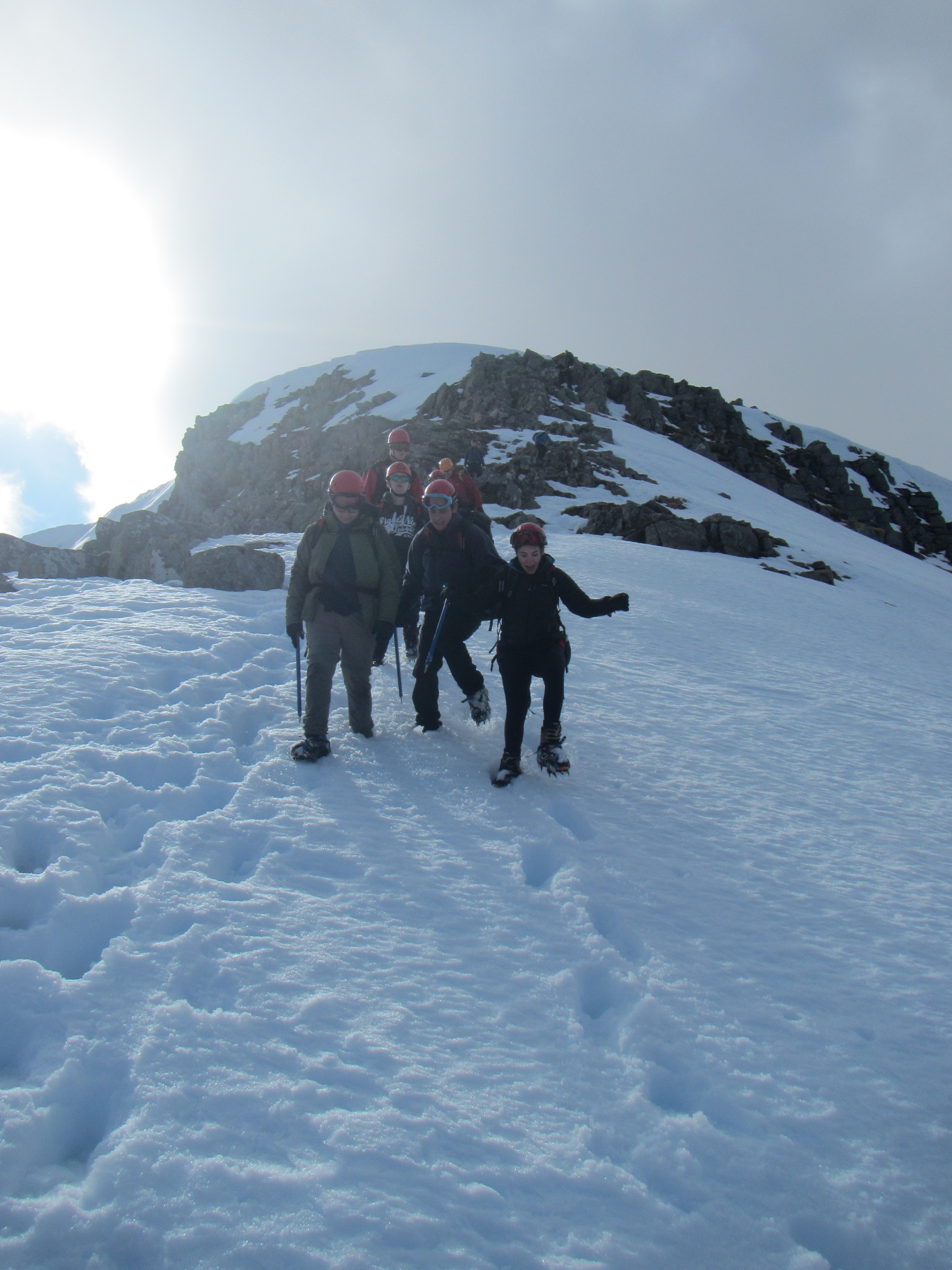 Descending from Creise, Glencoe