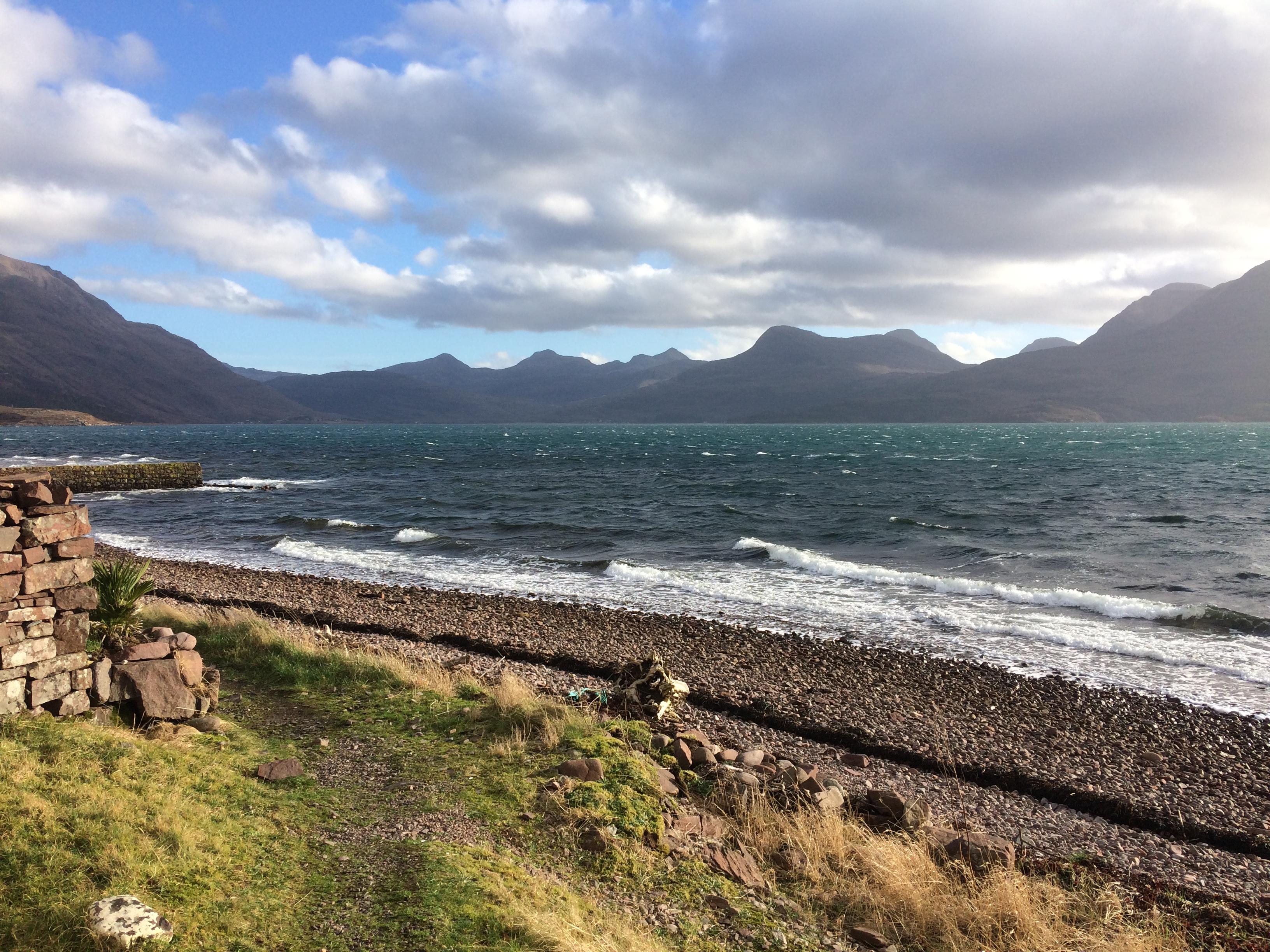The view along Loch Torridon