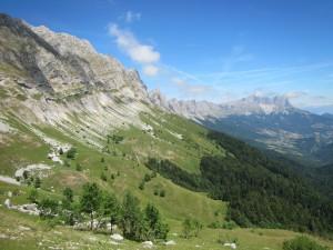 The Vercors escarpment