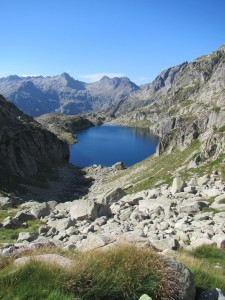 Looking back at Lac Nere