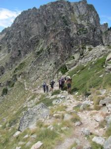 Approaching the Col de la Haugade